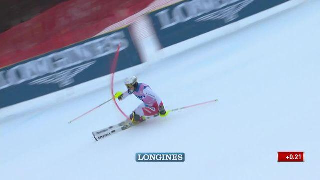 Slalom de Killington (USA), 1re manche dames: Wendy Holdener (SUI) [RTS]