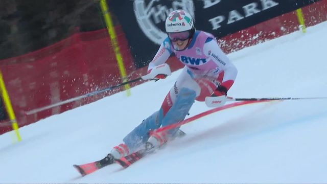 Slalom de Killington (USA), 1re manche dames: Michelle Gisin (SUI) [RTS]