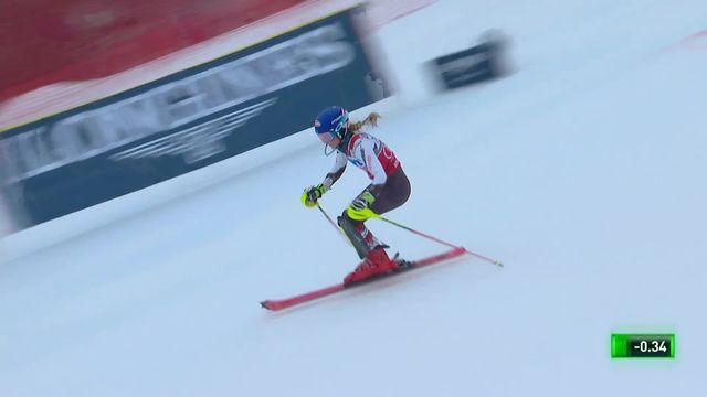 Slalom de Killington (USA), 1re manche dames: Mikaela Shiffrin (USA) prend la tête provisoire [RTS]