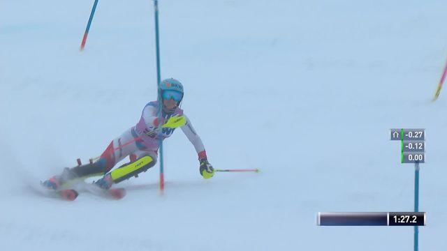 Slalom de Killington (USA), 2e manche dames: Elina Stoffel (SUI) [RTS]