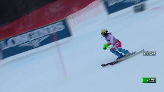 Slalom de Killington (USA), 2e manche dames: Carole Bissig (SUI) [RTS]