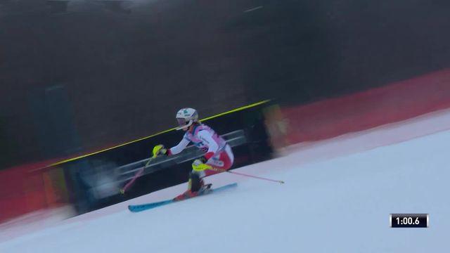Slalom de Killington (USA), 2e manche dames: Aline Danioth (SUI) [RTS]