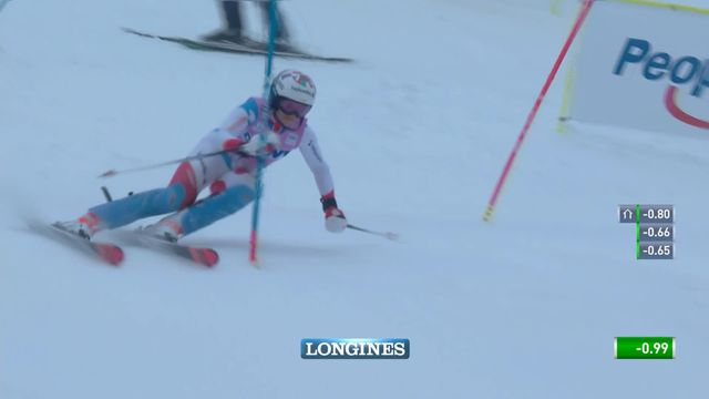 Slalom de Killington (USA), 2e manche dames: Michelle Gisin (SUI) [RTS]