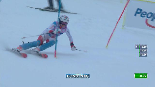 Slalom de Killington (USA), 2e manche dames: Michelle Gisin (SUI) [RTS]