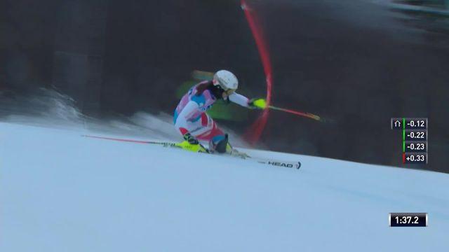 Slalom de Killington (USA), 2e manche dames: Wendy Holdener (SUI) [RTS]