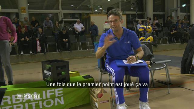 Le Mag : Max Giaccardi, entraîneur du LUC [RTS]