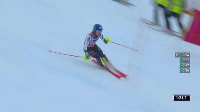 Slalom de Killington (USA), 2e manche dames: victoire de Mikaela Shiffrin (USA) [RTS]