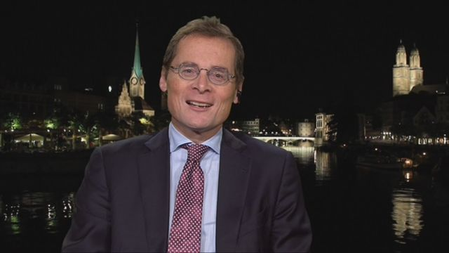 L'invité de Romain Clivaz (vidéo) - Roger Köppel, conseiller national (UDC-ZH) [RTS]