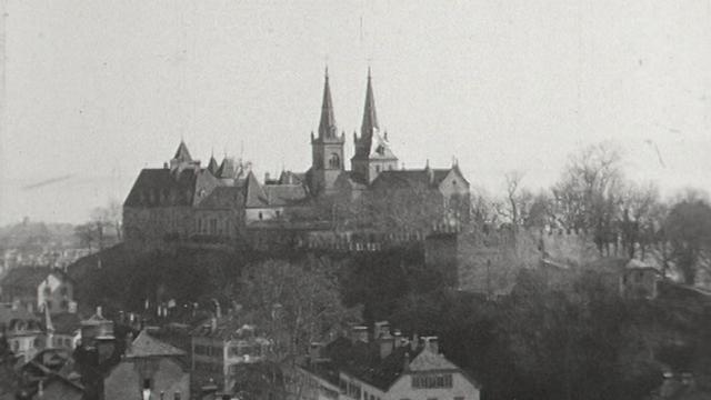 Neuchâtel en 1954. [RTS]