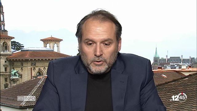 Campagne contre les comportements sexistes au CHUV : le duplex d'Antonio Racciatti, directeur des ressources humaines [RTS]