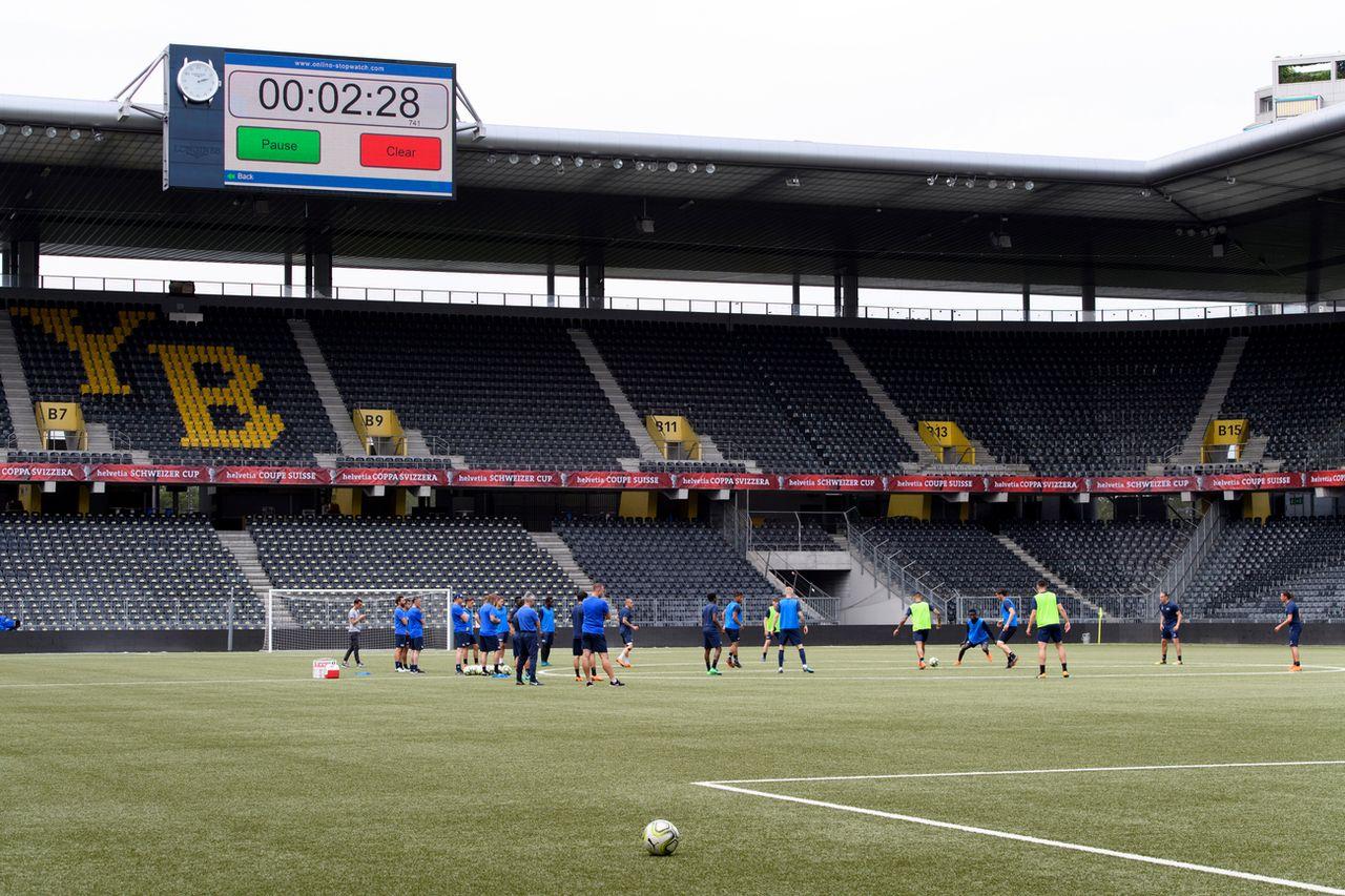 Le Stade de Suisse sera le théâtre de la finale de Coupe pour la 2e fois de suite. [Anthony Anex - Keystone]