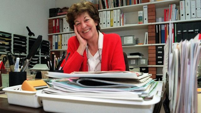 Cilette Cretton, pédagogue et féministe. [Andrée-Noëlle Pot - Keystone]