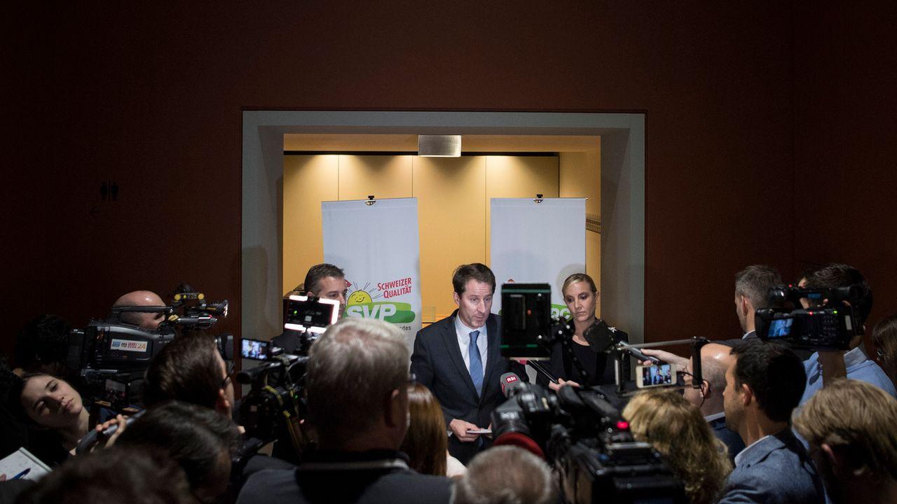 L'UDC soutiendra Heidi Z'graggen et Karin Keller-Sutter dans l'élection au conseil fédéral. [Peter Schneider - KEYSTONE]