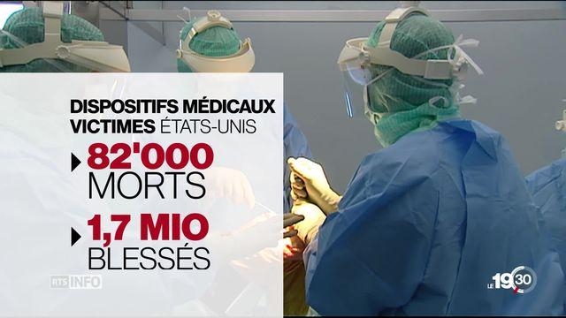 Scandale des implants. La défaillance des contrôles de qualité a fait des milliers de victimes. [RTS]