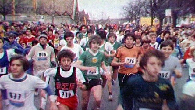 Edition 1981 de la Course de l'Escalade. [RTS]