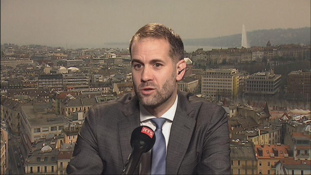 Antonio Hodgers dresse le bilan des six premiers mois du Gouvernement genevois (vidéo) [RTS]