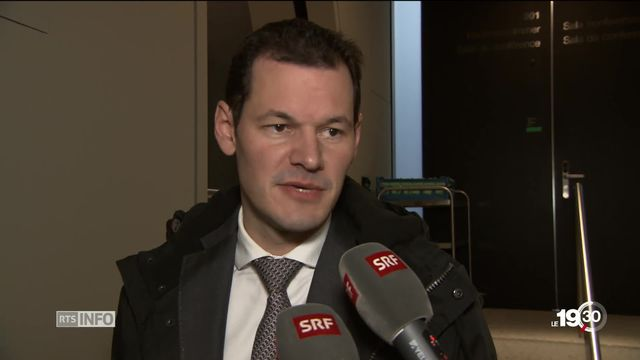 Le Comité directeur du PLR à Berne demande la démission de Pierre Maudet [RTS]
