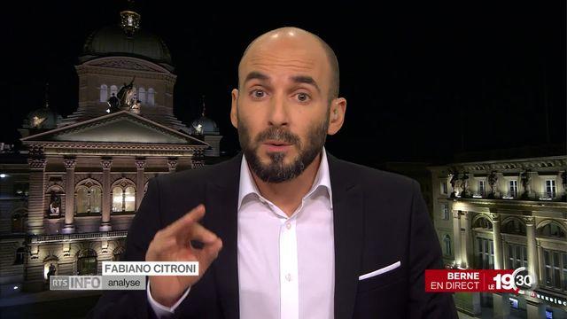 Fabiano Citroni parle de l'affaire Maudet [RTS]
