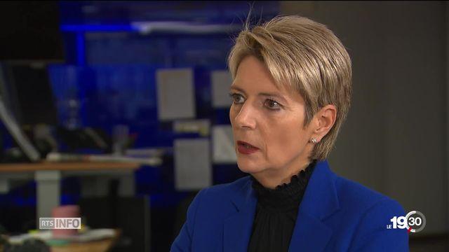 Karin Keller-Sutter : portrait de la candidate PLR au Conseil Fédéral [RTS]