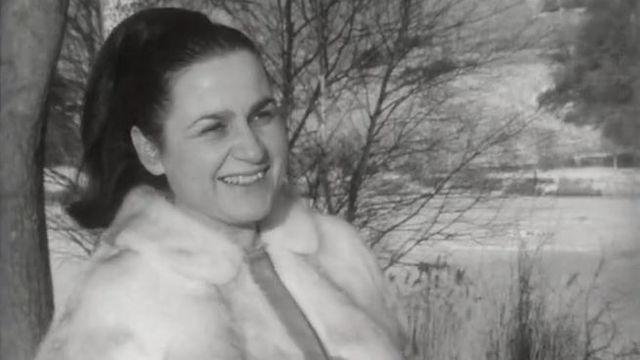 Cilette Faust en 1971 [RTS]