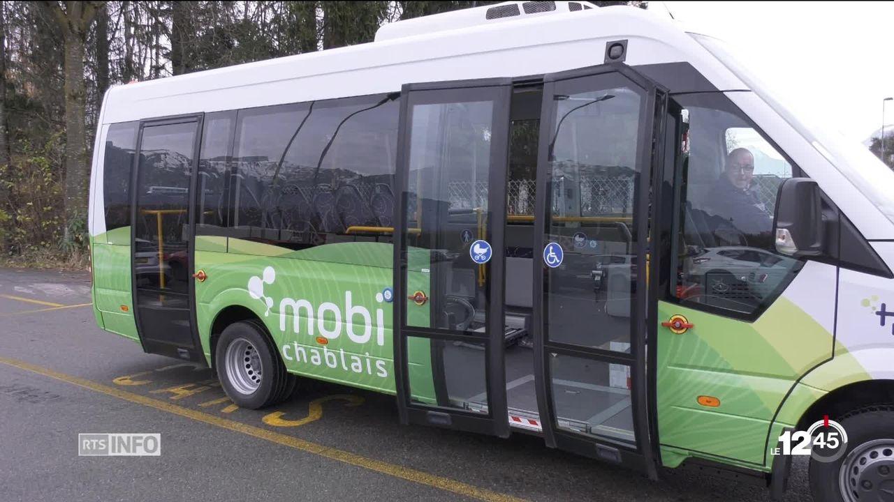 Le Chablais étoffera son offre de transports publics dès le 9 décembre [RTS]