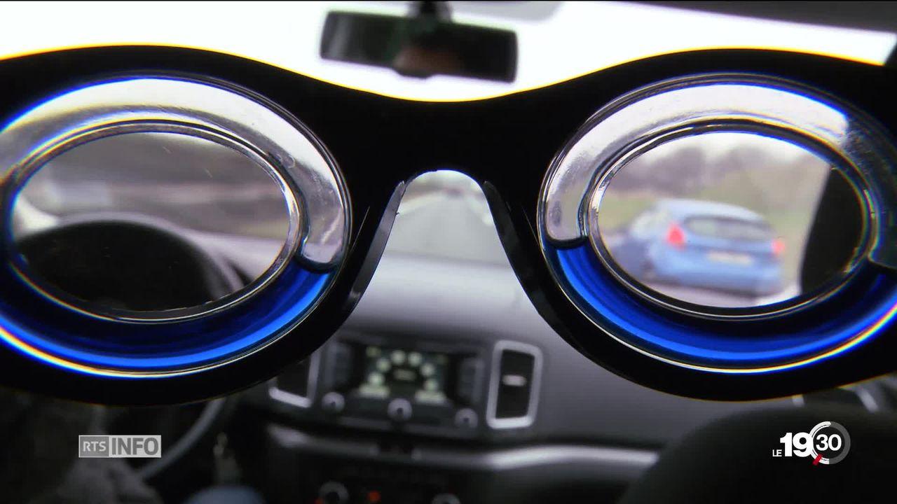 Des lunettes miracle promettent de résoudre le mal des transports [RTS]