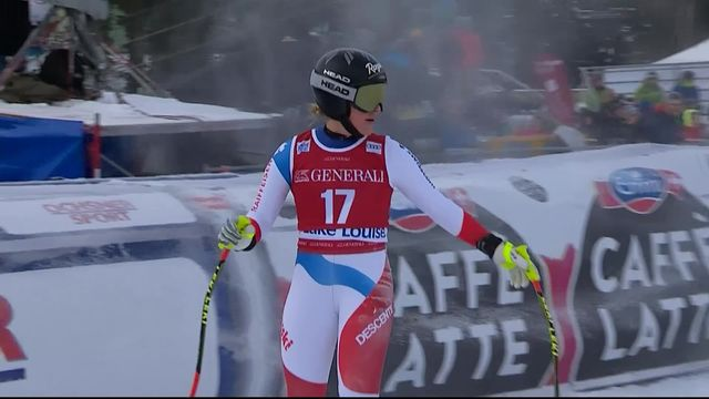Lake Louise (CAN), Descente dames: le passage de Lara Gut-Behrami (SUI) [RTS]