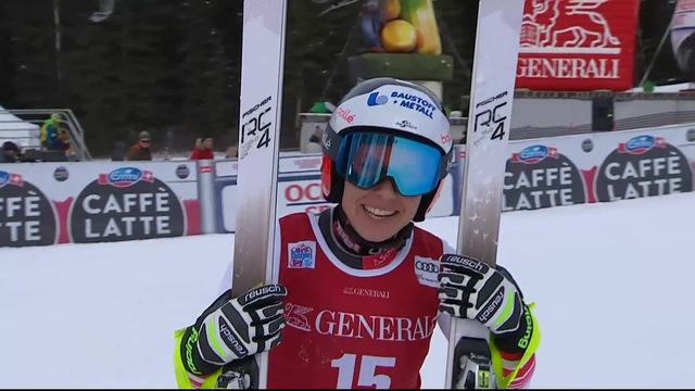Lake Louise (CAN), Descente dames: Nicole Schmidhofer (AUT) remporte la course [RTS]