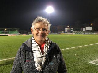 Linda Vialatte, 60 ans, dont 31 passés à la tête du FC Yverdon Féminin. [RTS - RTS]