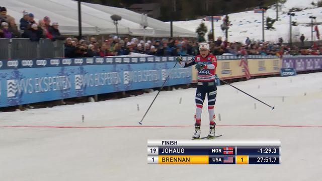 Lillehammer (NOR), 10km dames: Johaug (NOR) remporte sa seconde course de la saison, Von Siebenthal à la 17ème place [RTS]