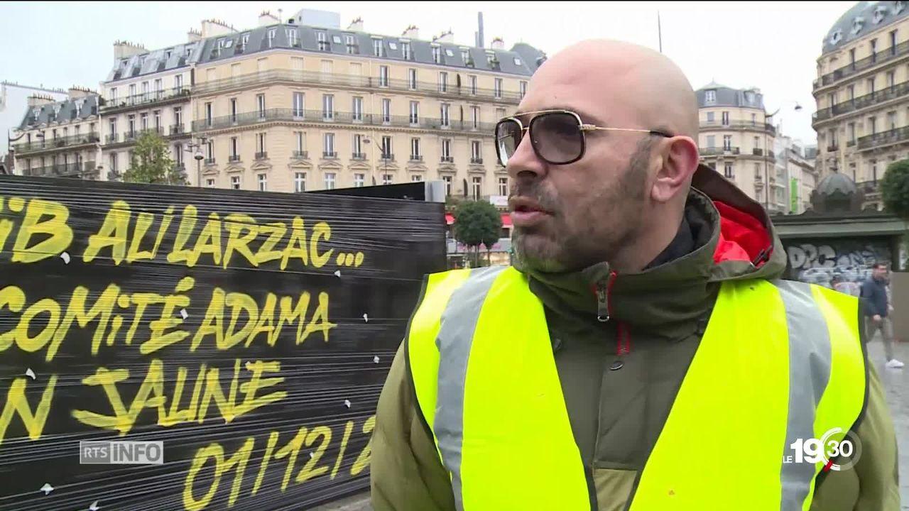 Le troisième samedi de mobilisation des gilets jaunes a été marqués par de nouveaux dérapages à Paris [RTS]