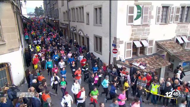 La course de l'Escalade attire les foules à Genève [RTS]