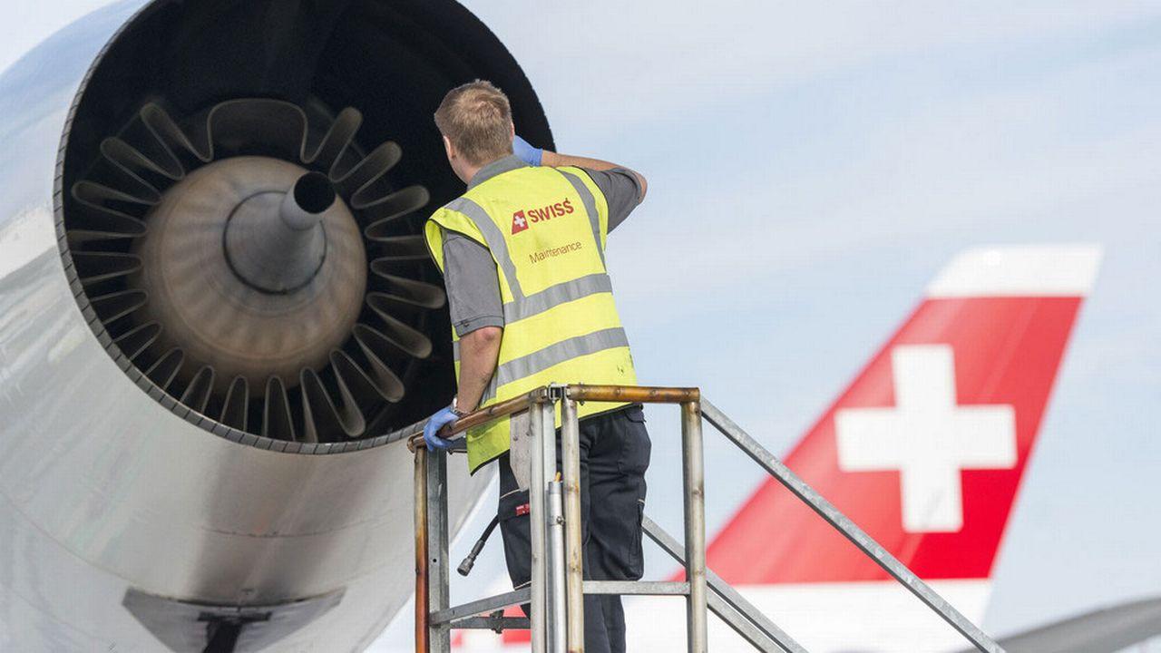 L'aviation est le seul secteur des transports à ne pas payer de taxes sur les carburants. Christian Beutler   [Christian Beutler  - Keystone]