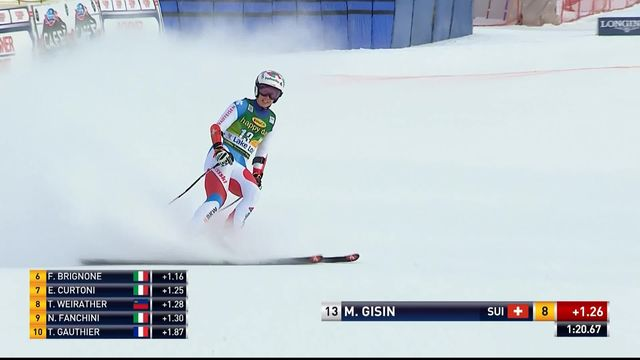 Lake Louise (CAN), Super-G dames: Michelle Gisin (SUI) [RTS]