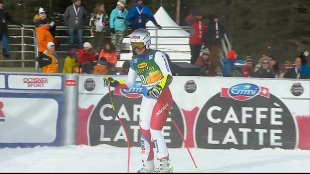 Lake Louise (CAN), Super-G dames: Corinne Suter (SUI) [RTS]