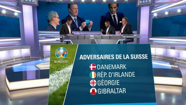 Football: Euro 2020, tirage au sort [RTS]