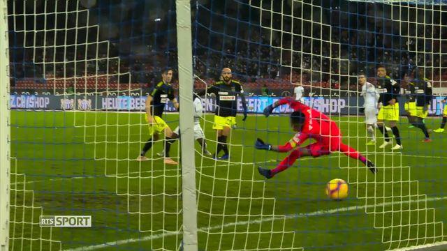 Football: Super League, 16e journée, Zurich - Grasshopper (2-0) [RTS]