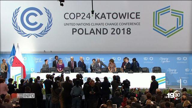 Ouverture de la conférence sur le climat : la pression monte...la Suisse s'engage [RTS]