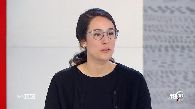 """Quels instruments la Suisse met-elle en place pour réduire ses émissions de CO2 ? L'analyse d'Océane Dayer, fondatrice de """"Swiss youth for climate"""" [RTS]"""