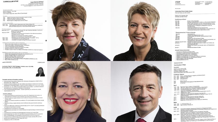 ce que r u00e9v u00e8lent les cv des quatre candidats au conseil