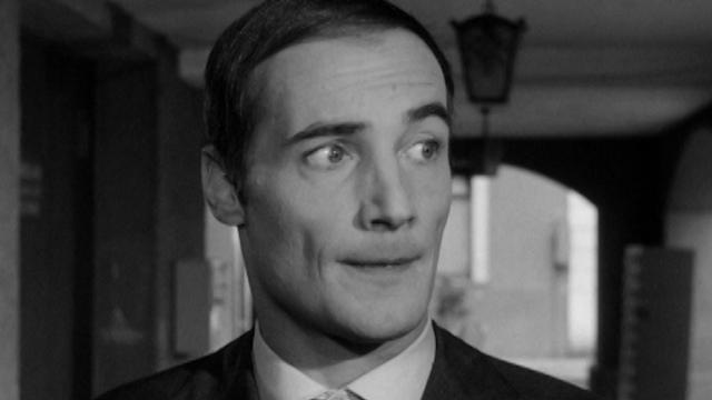 Bernard Haller dans le Bernard Show, 1966. [RTS]
