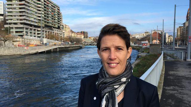 Franziska Schild était de passage à Genève pour préparer sa succession auprès de l'ACGF. [RTSsport]