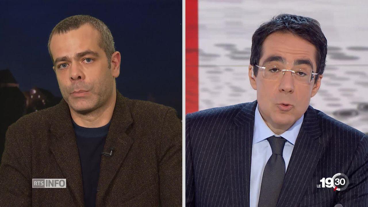 Pour Alessandro Pelizzari, sociologue syndicaliste UNIA la lutte des classes en France n'a jamais cessé. [RTS]