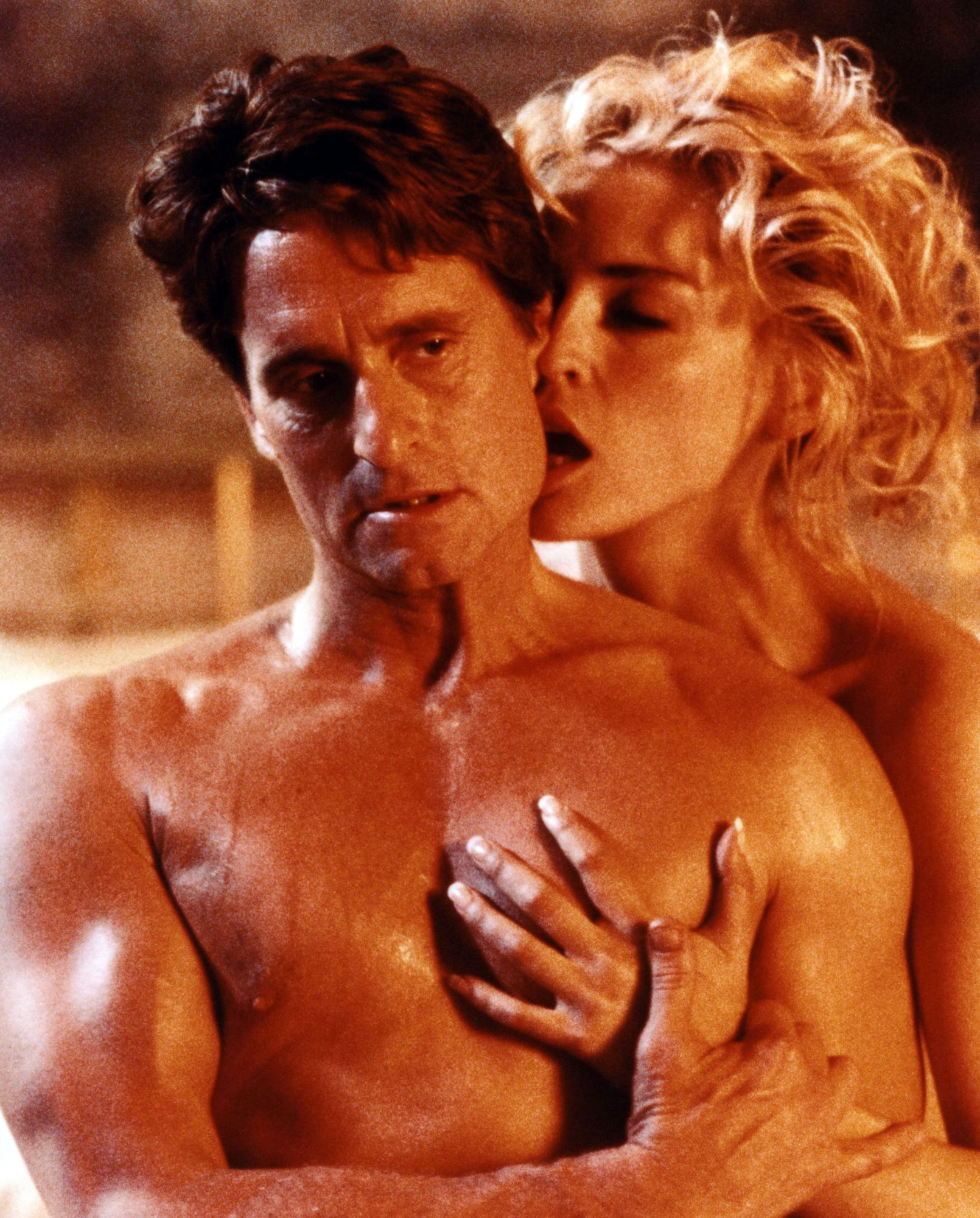"""Basic Instinct"", thriller érotique avec Michael Douglas et Sharon Stone."