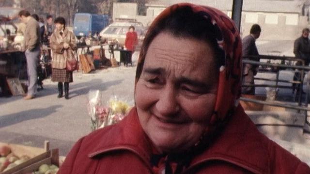Interview de rue sur le patois en Suisse romande. [RTS]