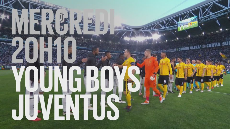 Bande-annonce: Football UEFA Champions League Young Boys - Juventus du 12.12.2018 [RTS]