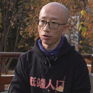 Hu Jia, dissident chinois. [RTS]