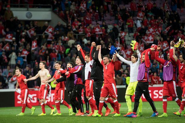 La Suisse n'a plus joué à Genève depuis son match contre la Lettonie en mars dernier. [Keystone]