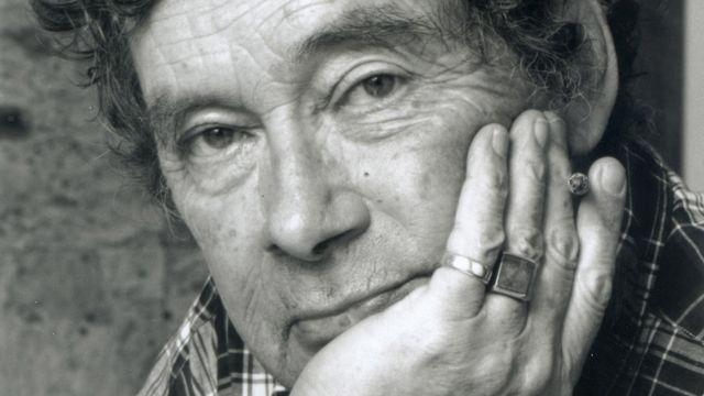 Nicolas Bouvier en 1997. [Jean Mayerat - RTS]