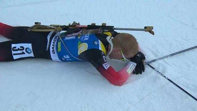 Pokljuka (SLO), sprint messieurs: Johannes Boe (NOR) s'impose devant Guigonnat (FRA) et Loginov (RUS) [RTS]